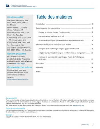 Perspectives internationales - La 5G et la 4ème révolution industrielle (partie 2) page 2