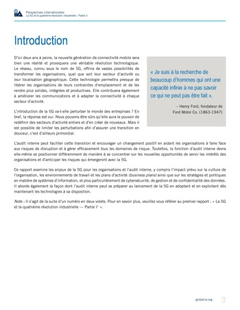 Perspectives internationales - La 5G et la 4ème révolution industrielle (partie 2) page 3