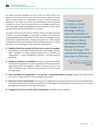 Perspectives internationales - La 5G et la 4ème révolution industrielle (partie 2) page 5
