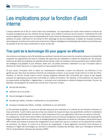 Perspectives internationales - La 5G et la 4ème révolution industrielle (partie 2) page 9