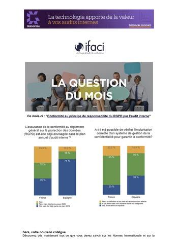 Lettre mensuelle IFACI - été 2019 page 1