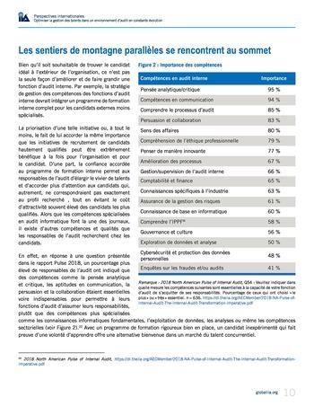 Perspectives internationales - Optimiser la gestion des talents dans un environnement d'audit en constante évolution page 10