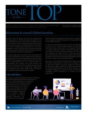 Tone at the top 95 - Réinventer le conseil d'administration page 1