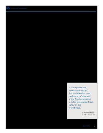 Perspectives internationales - Les avantages de la diversité et de l'inclusion pour les organisations page 10