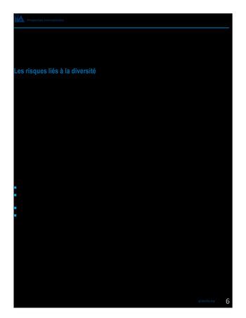 Perspectives internationales - Les avantages de la diversité et de l'inclusion pour les organisations page 8