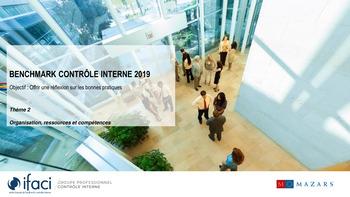 Benchmark Contrôle interne 2019 - IFACI page 1