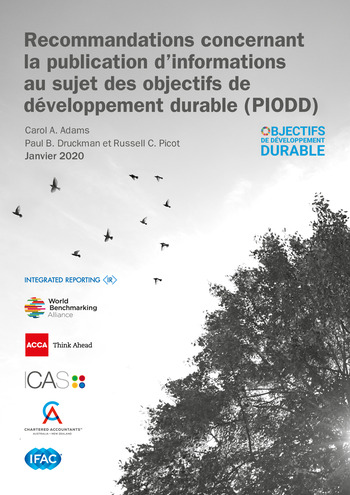 Recommandations concernant la publication d'informations au sujet des objectifs de développement durable (PIODD) / ACCA, Chartered Accountants ANZ, ICAS, IFAC, IIRC et WBA page 1
