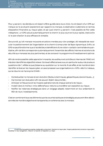 Guide des risques cyber - Ifaci 2.0 / 2020 page 13