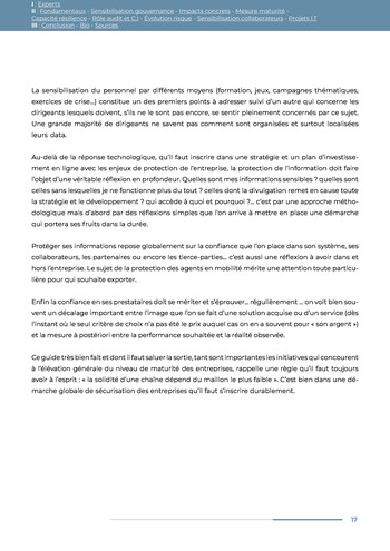 Guide des risques cyber - Ifaci 2.0 / 2020 page 17