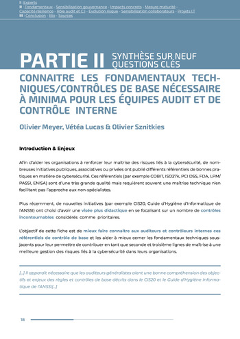 Guide des risques cyber - Ifaci 2.0 / 2020 page 18