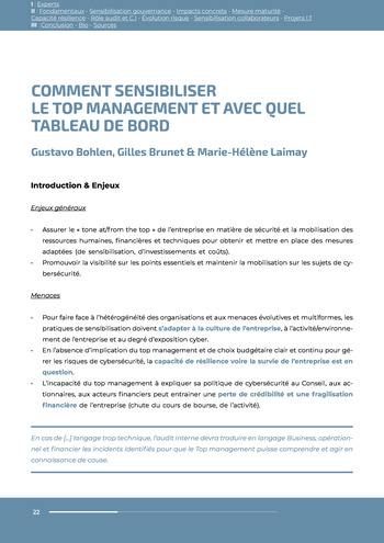 Guide des risques cyber - Ifaci 2.0 / 2020 page 22