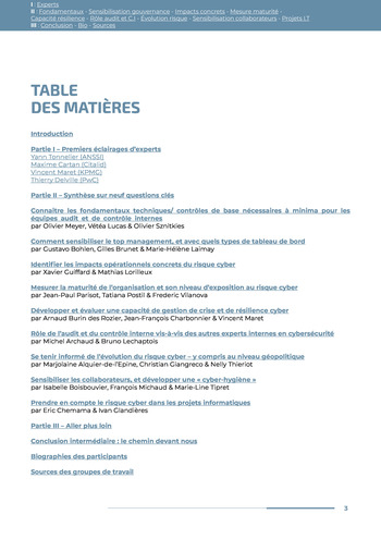 Guide des risques cyber - Ifaci 2.0 / 2020 page 3