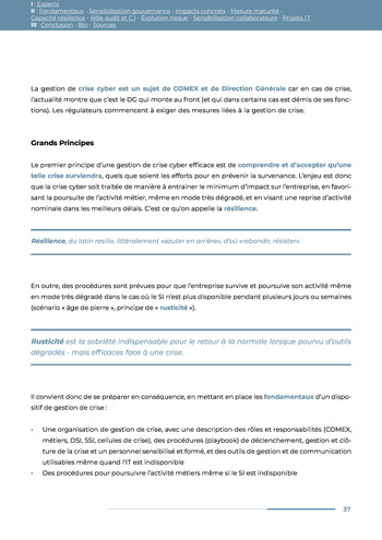 Guide des risques cyber - Ifaci 2.0 / 2020 page 37