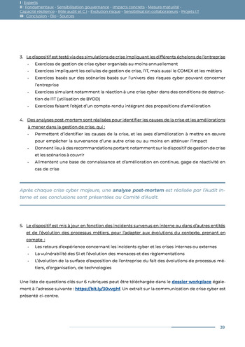 Guide des risques cyber - Ifaci 2.0 / 2020 page 39