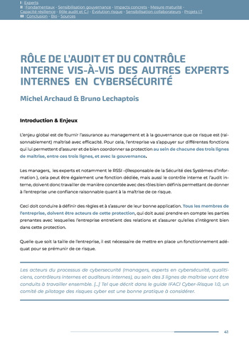 Guide des risques cyber - Ifaci 2.0 / 2020 page 41