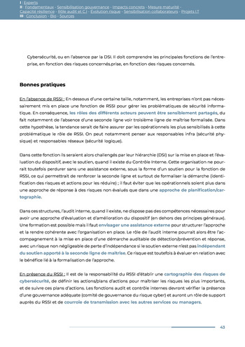 Guide des risques cyber - Ifaci 2.0 / 2020 page 43