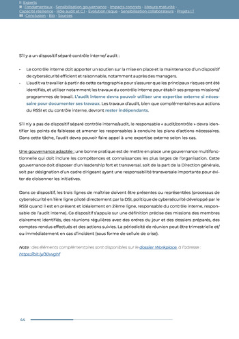 Guide des risques cyber - Ifaci 2.0 / 2020 page 44