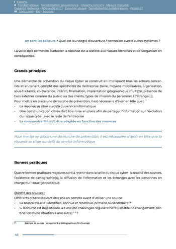 Guide des risques cyber - Ifaci 2.0 / 2020 page 46
