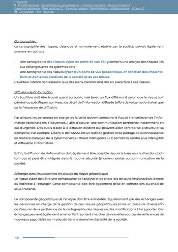 Guide des risques cyber - Ifaci 2.0 / 2020 page 48