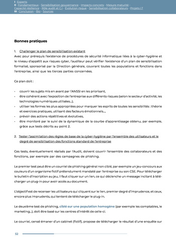 Guide des risques cyber - Ifaci 2.0 / 2020 page 52