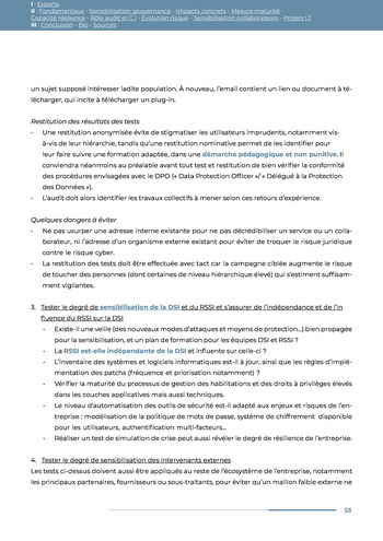 Guide des risques cyber - Ifaci 2.0 / 2020 page 53