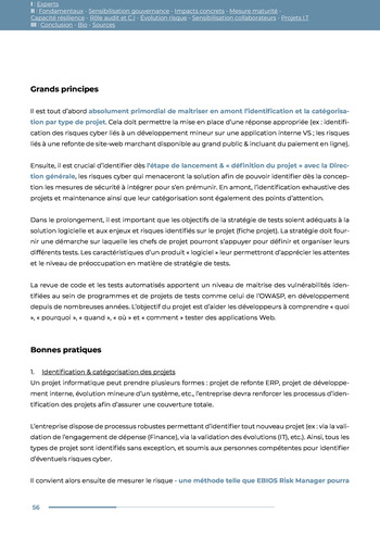 Guide des risques cyber - Ifaci 2.0 / 2020 page 56