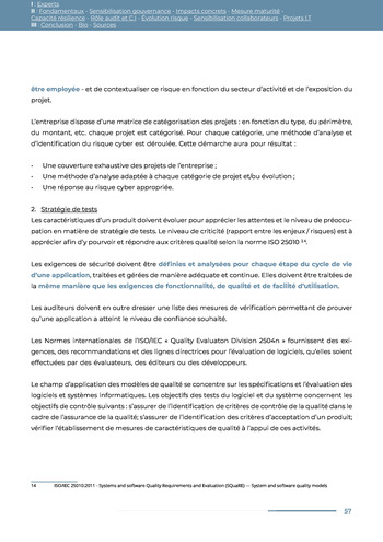 Guide des risques cyber - Ifaci 2.0 / 2020 page 57