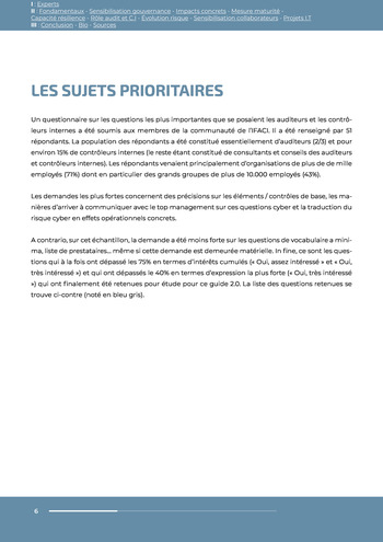 Guide des risques cyber - Ifaci 2.0 / 2020 page 6