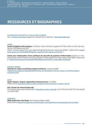 Guide des risques cyber - Ifaci 2.0 / 2020 page 65