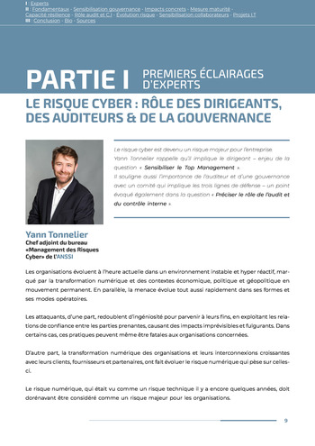 Guide des risques cyber - Ifaci 2.0 / 2020 page 9