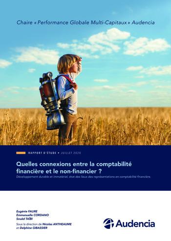 Quelles connexions entre la comptabilité financière et le non-financier ? / Version longue / Audencia page 1
