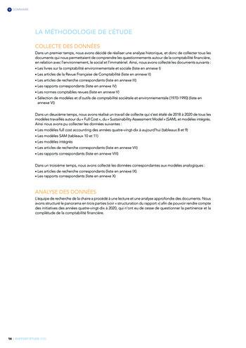 Quelles connexions entre la comptabilité financière et le non-financier ? / Version longue / Audencia page 14