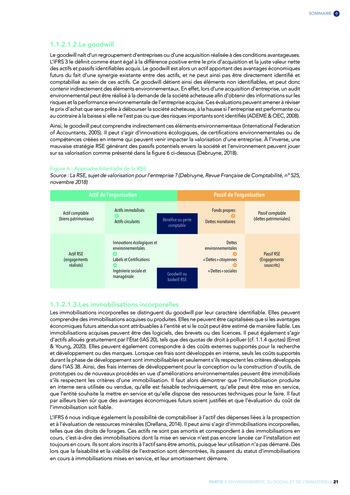 Quelles connexions entre la comptabilité financière et le non-financier ? / Version longue / Audencia page 21