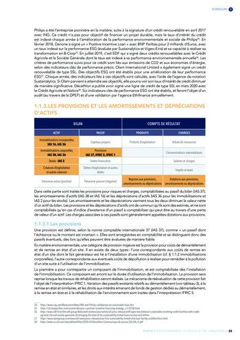 Quelles connexions entre la comptabilité financière et le non-financier ? / Version longue / Audencia page 23