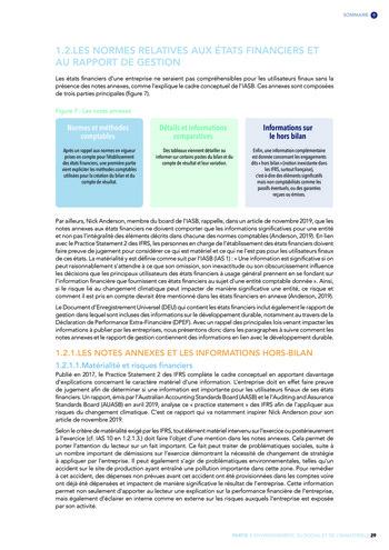 Quelles connexions entre la comptabilité financière et le non-financier ? / Version longue / Audencia page 29