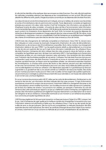 Quelles connexions entre la comptabilité financière et le non-financier ? / Version longue / Audencia page 31