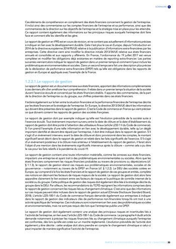 Quelles connexions entre la comptabilité financière et le non-financier ? / Version longue / Audencia page 33