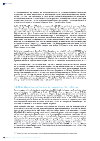 Quelles connexions entre la comptabilité financière et le non-financier ? / Version longue / Audencia page 34