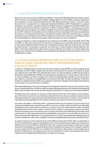 Quelles connexions entre la comptabilité financière et le non-financier ? / Version longue / Audencia page 36