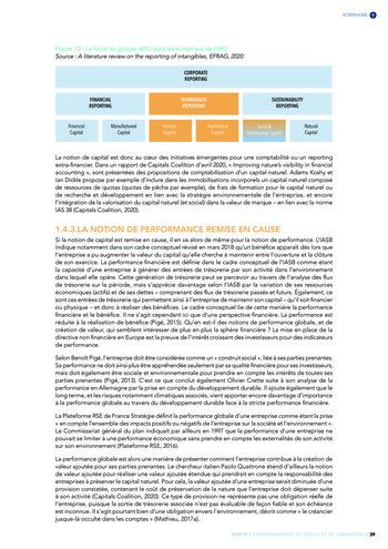 Quelles connexions entre la comptabilité financière et le non-financier ? / Version longue / Audencia page 39