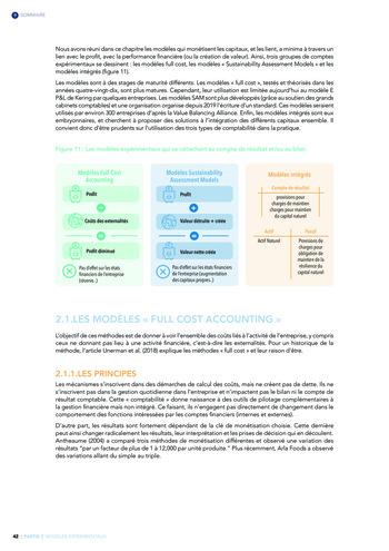 Quelles connexions entre la comptabilité financière et le non-financier ? / Version longue / Audencia page 42
