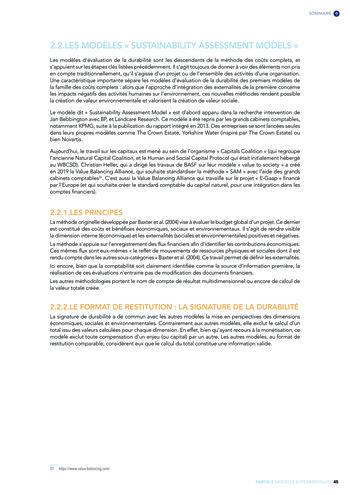Quelles connexions entre la comptabilité financière et le non-financier ? / Version longue / Audencia page 45