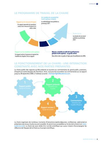 Quelles connexions entre la comptabilité financière et le non-financier ? / Version longue / Audencia page 5