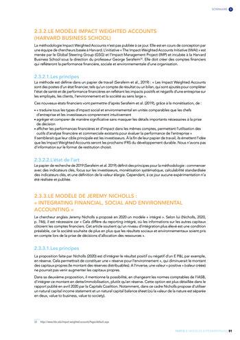Quelles connexions entre la comptabilité financière et le non-financier ? / Version longue / Audencia page 51