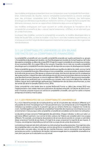 Quelles connexions entre la comptabilité financière et le non-financier ? / Version longue / Audencia page 56