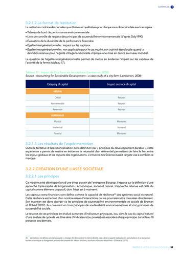 Quelles connexions entre la comptabilité financière et le non-financier ? / Version longue / Audencia page 59