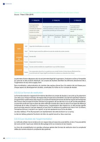 Quelles connexions entre la comptabilité financière et le non-financier ? / Version longue / Audencia page 60