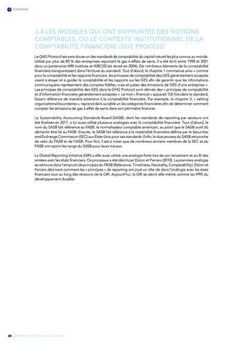 Quelles connexions entre la comptabilité financière et le non-financier ? / Version longue / Audencia page 68