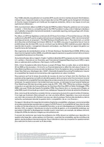 Quelles connexions entre la comptabilité financière et le non-financier ? / Version longue / Audencia page 7