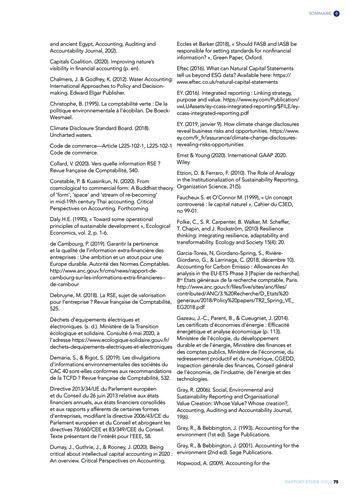 Quelles connexions entre la comptabilité financière et le non-financier ? / Version longue / Audencia page 75